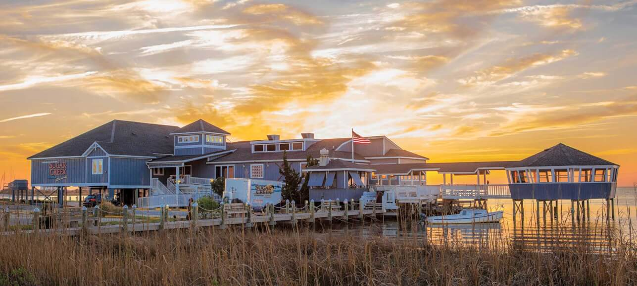 waterfront seafood restaurant nags head