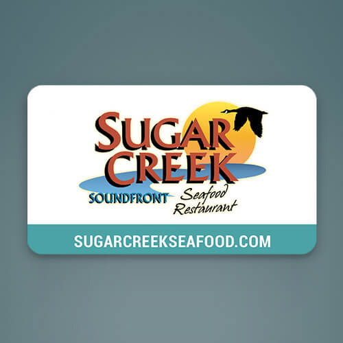 sugar creek gift card